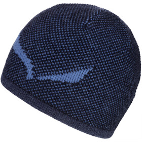 SALEWA Ortles Bonnet en laine, night black